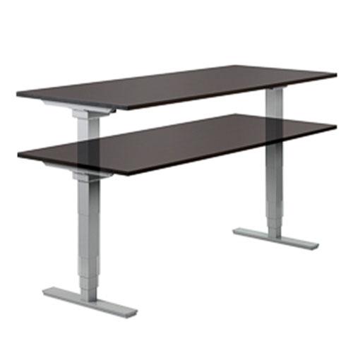 Black-Adjustable-Height-Table