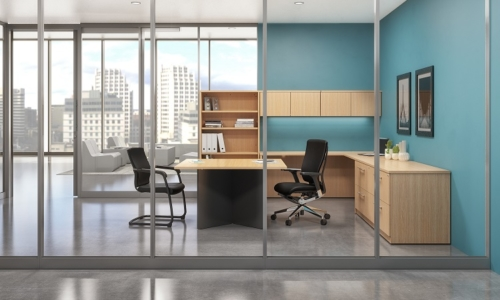 Treat Hard Work Done with Professional Private Office Furniture