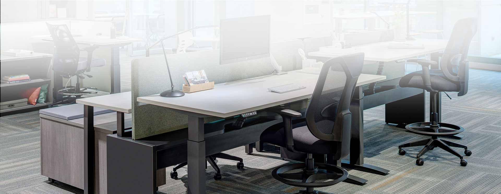 Sub Banner Height Adjustable Tables